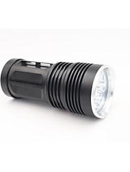 billige -High/Low LED Lommelygter LED 7000 lm 2 Lys Tilstand Vandtæt Camping / Vandring / Grotte Udforskning / Dagligdags Brug / Dykning / Lystsejlads