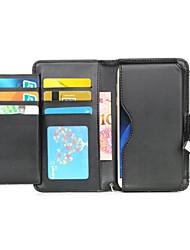 economico -Custodia Per Samsung Galaxy Samsung Galaxy Custodia A portafoglio / Porta-carte di credito / Con chiusura magnetica Integrale Tinta unita Morbido pelle sintetica per On 7 / On 5 / J7 (2016)