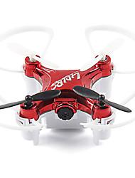 billiga -RC Drönare L7HW-1 4 Kanaler 6 Axel 2.4G Med HD-kamera 720P Radiostyrd quadcopter Retur Med Enkel Knapptryckning Auto-Takeoff
