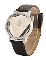 baratos -Mulheres Relógio de Pulso Venda imperdível PU Banda Amuleto / Fashion Preta / Branco / Um ano / Tianqiu 377