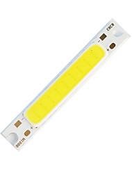 Недорогие -ZDM 1шт DIY 5W 48x7,5 мм 300-400 лм теплый белый / 3000-3500 К световой удар светодиодный излучатель утолщенной алюминиевой подложки (DC5V)