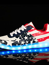 LED Light Up Shoes, USB Charging Luminous Shoes Women's Casual Shoes Fashion Sneakers Multi-color