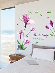 cheap -Botanical Wall Stickers Plane Wall Stickers Decorative Wall Stickers Photo Stickers, Vinyl Home Decoration Wall Decal Wall