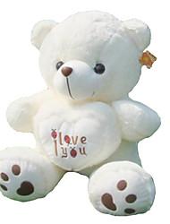 Недорогие -(35,4 дюйма) довольно Я тебя люблю Сердце медведя плюшевые заполнения ПП хлопка подарок