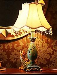 The Bedroom Bedside Lamp Retro Glass Decorative Wood Old Shanghai Desk Lamp