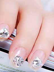 belle argent diamant clou bijoux