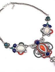 baratos -Mulheres Colares com Pendentes Colares Declaração  -  Importante Estilo bonito Fashion Arco-Íris Colar Para Festa