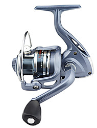 cheap -Fishing Reel Spinning Reel 5.5:1 Gear Ratio+6 Ball Bearings Hand Orientation Exchangable Sea Fishing Bait Casting Ice Fishing Spinning