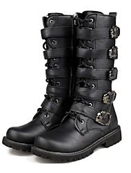 baratos -sapatos masculinos ao ar livre / de escritório&carreira / partido&de noite / vestido / Casual materiais personalizados botas