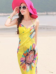 cheap -Fashion Summer  Chiffon Style Scarf Beach Towels Ladies Chiffon Scarves Shawls