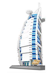 cheap -WANTOY Building Blocks Toys Ship Burj Al Arab Plastic Children's 1 Pieces