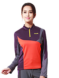Makino Women's Hiking T-shirt Outdoor Breathable Top Camping / Hiking Hunting Fishing Climbing Exercise & Fitness Golf Racing Leisure