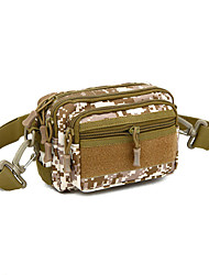 MOLLE Tactical Military Assault Small Pockets Nylon Waist Bag Men Casual Handbags Army Messenger Fanny Pack Bags
