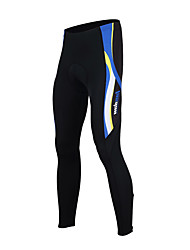 cheap -TASDAN Men's Cycling Tights Bike Tights / Bottoms 3D Pad, Quick Dry, Breathable Solid Colored Black / Red / Black / Blue Bike Wear