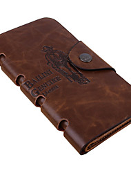 cheap -Unisex Women Bags PU Other Leather Type Wallet Checkbook Wallet for Shopping Casual Sports Outdoor Winter All Seasons Brown