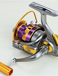 Mulinelli per spinning 5.5:1 12 Cuscinetti a sfera Intercambiabile Pesca di mare Spinning Pesca di acqua dolce Pesca dilettantistica-