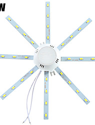 cheap -LED Ceiling Lights 32 SMD 5730 1280 lm Cold White 6000-6500 K Decorative AC 220-240 V
