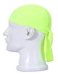 Недорогие -Велосипедная шапочка Банданы Шапки Велоспорт Дышащий Быстровысыхающий Впитывает пот и влагу Защита от солнечных лучей унисекс Белый