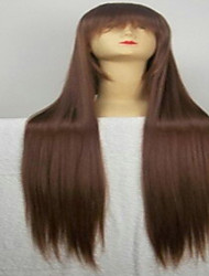cheap -freeshipping popular cosplay wig party wig brown cartoon wig super long straight animated synthetic hair wigs Halloween