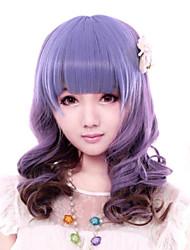 Parrucche lolita Dolce Colore Graduale e Sfumato Parrucche Lolita 43 CM Parrucche Cosplay Collage Parrucche Per