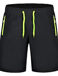 baratos -Homens Básico Delgado Shorts Calças - Sólido