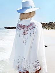 Robes Légères Aux femmes Couleur Pleine Sans Armature / Soutien-gorge Sans Rembourrage Licou Polyester