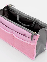 cheap -Unisex Bags Nylon Cosmetic Bag Zipper for Casual Blue / Pink / Yellow