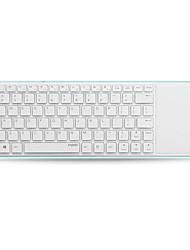 оригинальный Rapoo E6700 Bluetooth сенсорная клавиатура 5.6mm тонкий дизайн поддержка Windows8 / RT белый / синий / желтый / красный