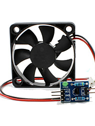 cheap -Motor Speed Regulating Fan Module + Driving Board for ArduinoPWM Control Fan Module for Arduino Scientific Research