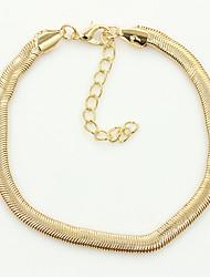 Bracelet de cheville/Bracelet Autres Original Mode Alliage Doré Argent Aux femmes Bijoux 1pc