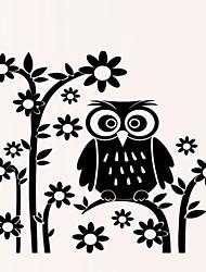 Animais / Botânico / Desenho Animado / Romance / Floral Wall Stickers Autocolantes de Aviões para Parede,PVC 90*60CM