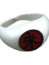 cheap -Jewelry Inspired by Naruto Itachi Uchiha Anime Cosplay Accessories Ring Alloy Men's Women's