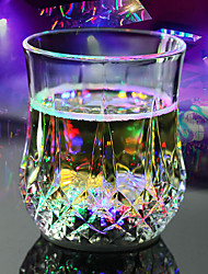 cheap -LED Flash Light Whisky Shot Drink Glass Cup flashing Beer Bar Party Wedding Club Decoration Gift