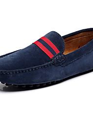 abordables -Homme Chaussures Cuir Printemps Eté Semelles Légères Mocassins et Chaussons+D6148 pour Décontracté De plein air Marron Bleu marine