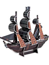 Недорогие -черный жемчуг 3d головоломки DIY игрушек для детей и взрослых головоломки (24pcs)