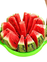 Stainless Steel Multi-Functional Fruit Cutter/Cantaloupe Slicer/Watermelon Cut Diameter25.5cmRandom Color