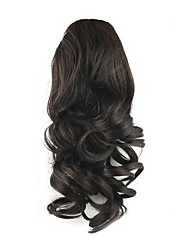cheap -Drawstring Ponytails Elastic Synthetic Hair Hair Piece Hair Extension Curly