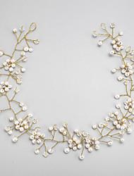 imiteret perle rhinestone legering hovedbånd hovedstykke elegant stil