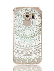 Capa Traseira corpo transparente Transparentes TPU Macio Transparent Galaxy S7 edge / Galaxy S7 / Galaxy S6 edge / Galaxy S6
