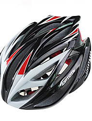 cheap -Adults Bike Helmet 21 Vents Impact Resistant, Light Weight, Adjustable Fit EPS, PC Sports Recreational Cycling / Cycling / Bike / Mountain Bike / MTB - Red / Blue / Black / Silver