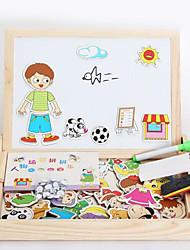 Magneti giocattolo Pezzi MM Magneti giocattolo Puzzle Animali Giocattoli esecutivi Cubo a puzzle per il regalo
