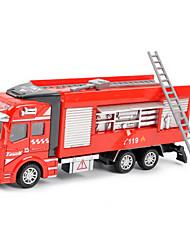 Недорогие -Дибанг - детская игрушка автомобиль пожарная машина 1:48 назад, чтобы заставить сплава моделям автомобиля игрушка головоломки воды лафет
