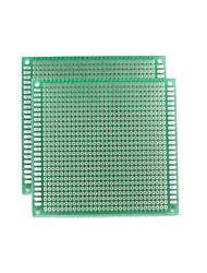 cheap -Universal Double-Sided PCB Board - Green (5 * 7cm)