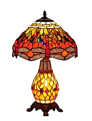cheap -Tiffany Dragonfly Designed Table Lamps with 2 Light