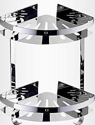 Недорогие -ванной двухпалубный из нержавеющей стали корзины треугольной формы хранения