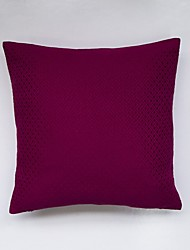 Red Jacquard Cushion Cover