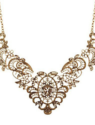 cheap -Women's Flower Pendant Necklace  -  Casual Fashion Ancient Bronze Necklace For Prom Bar