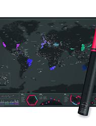Недорогие -Карта царапин Сцарапать карту мира для путешественников Игрушки Оригинальные Взрослые 1 Куски