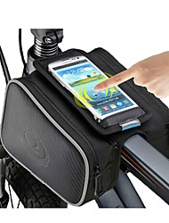 cheap -ROSWHEEL Bike Frame Bag Cell Phone Bag 5.0 inch Moistureproof/Moisture Permeability Waterproof Zipper Wearable Touch Screen Shockproof