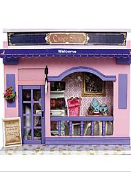 Недорогие -Чи весело дома поделок хижины европейские магазины с легкой творческие Валентина День подарков ручной дом